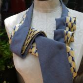 Necktie scarf, $58